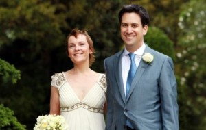 Ed Milliband and Justine Thorntons wedding