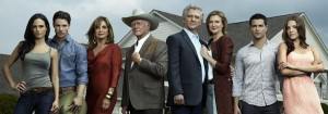 The new revival in 2011 of the TV series Dallas