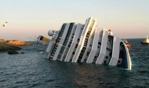 The Costa Concordia Sinks