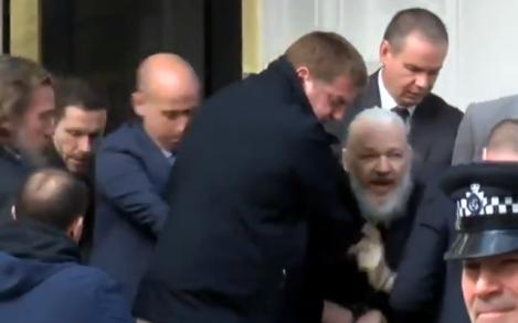 WikiLeaks Julian AssangeArrested