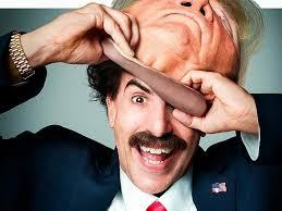 This image has an empty alt attribute; its file name is borat-trump-1.jpg